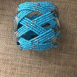 Jewelry - Native seed bead cuff